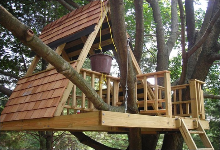 how to build a simple treehouse step by step