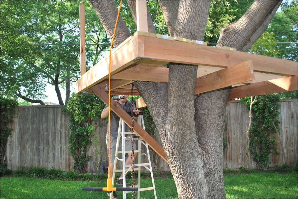 how to build a tree house plans