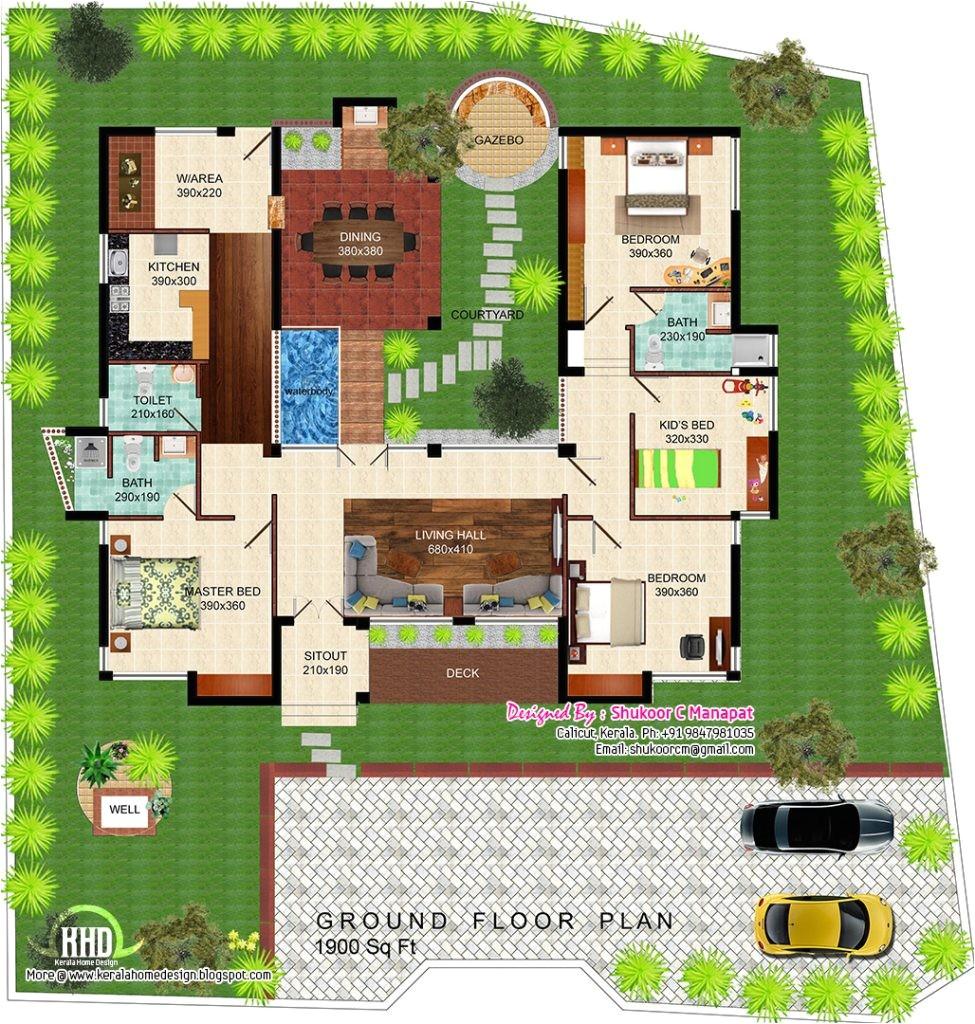 eco friendly house designs floor plans 2