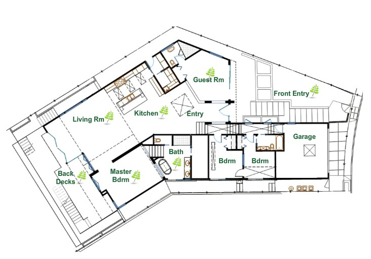 sustainable home plans