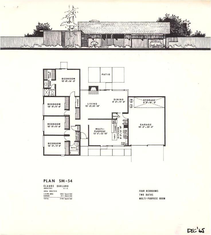 eichler mcm floorplans