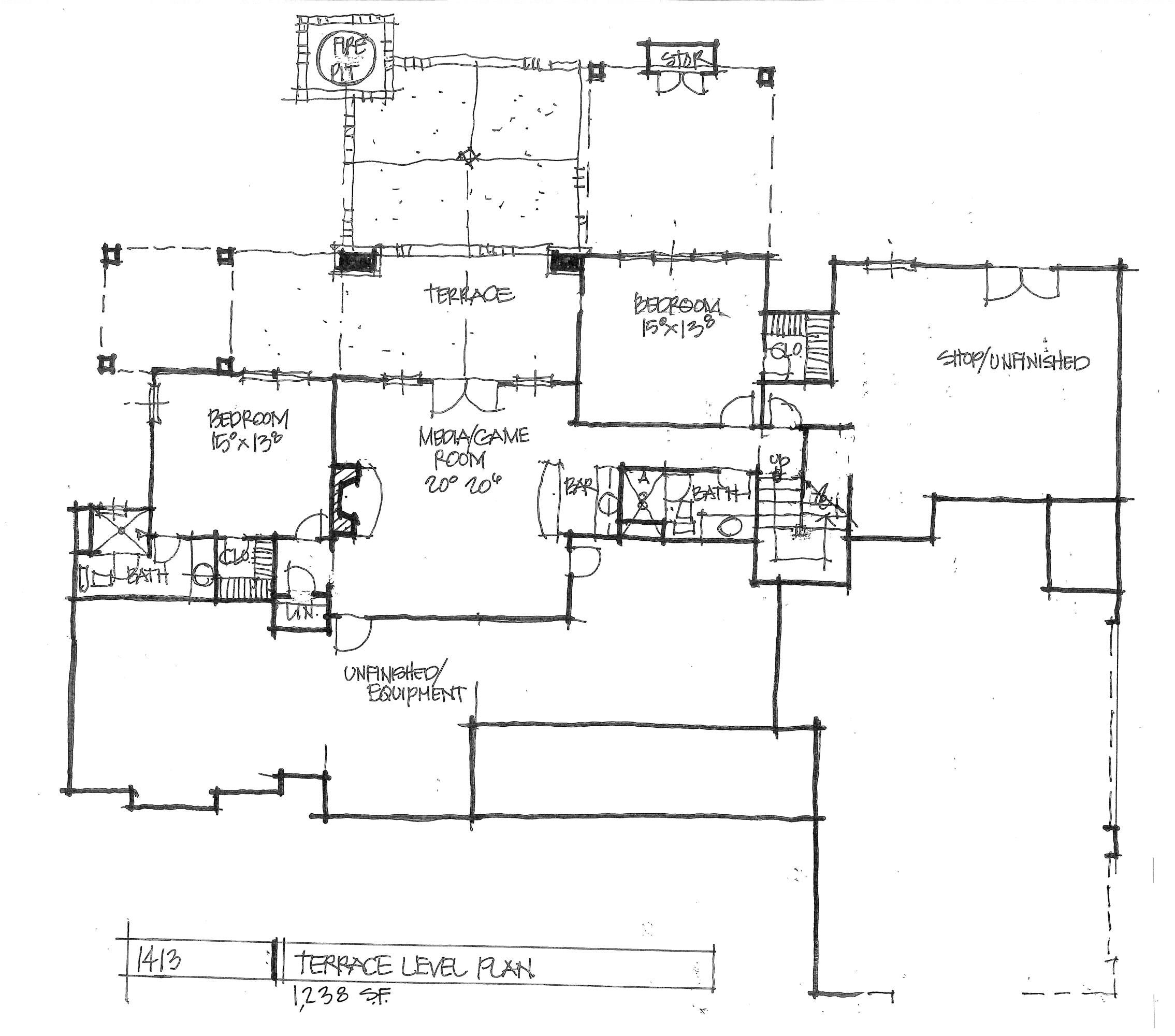 empty house plans