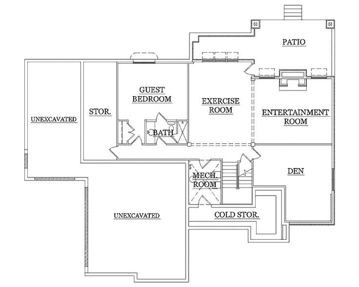 Empty Nester House Plans with Basement Exceptional Empty Nester House Plans 6 Empty Nester 2