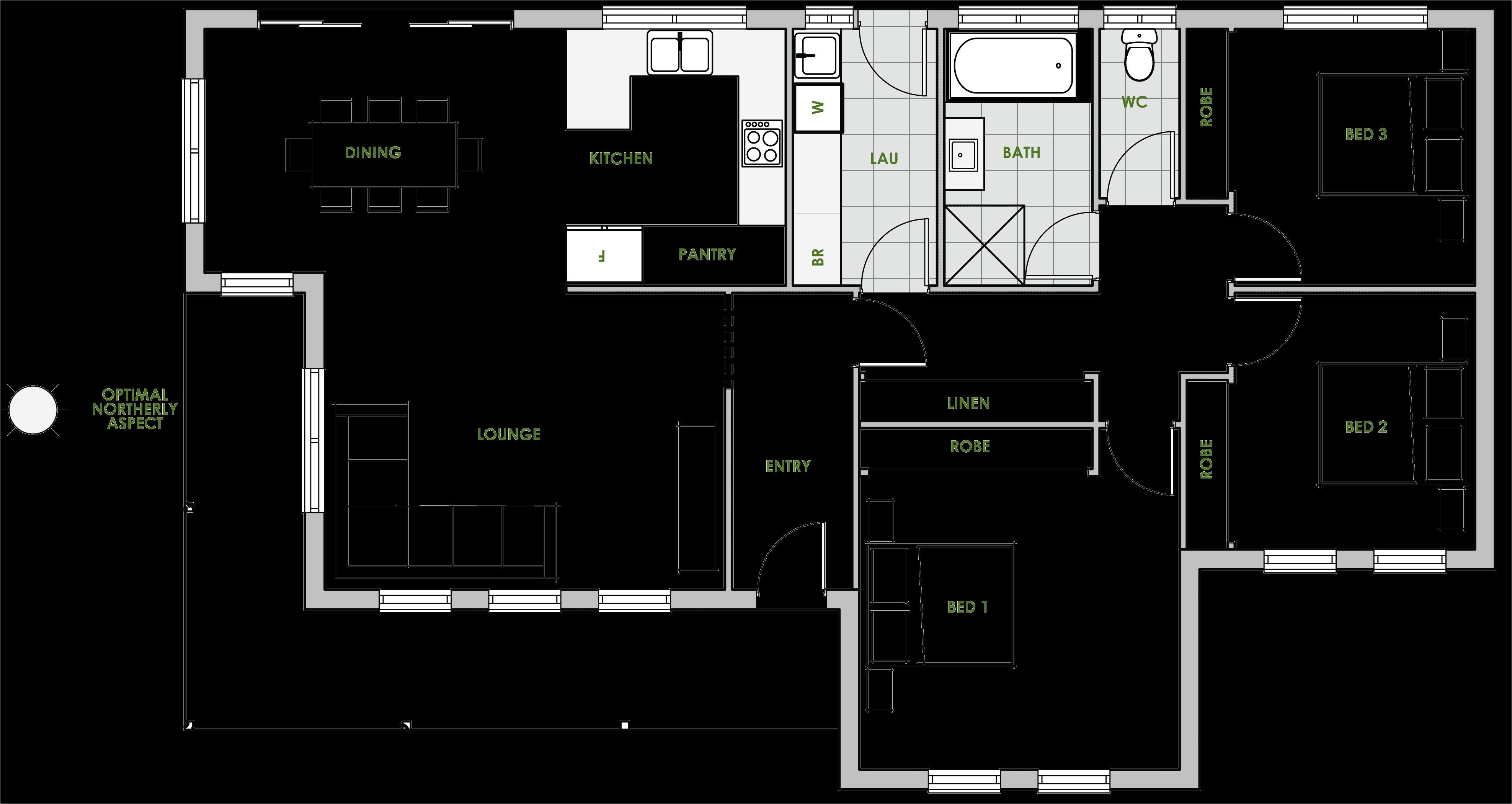 modern energy efficient house plans