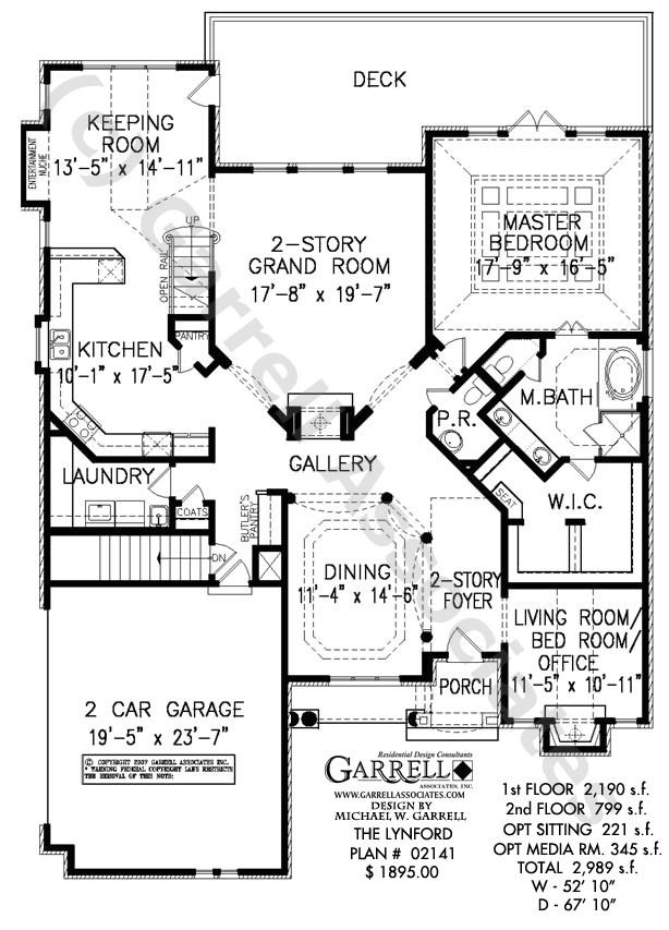 lynford english craftsman house plan