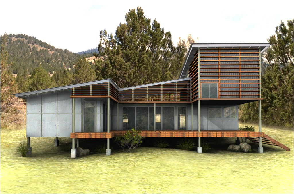 new eco house plan