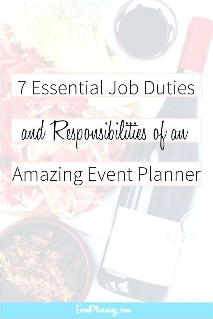 event planning courses from home