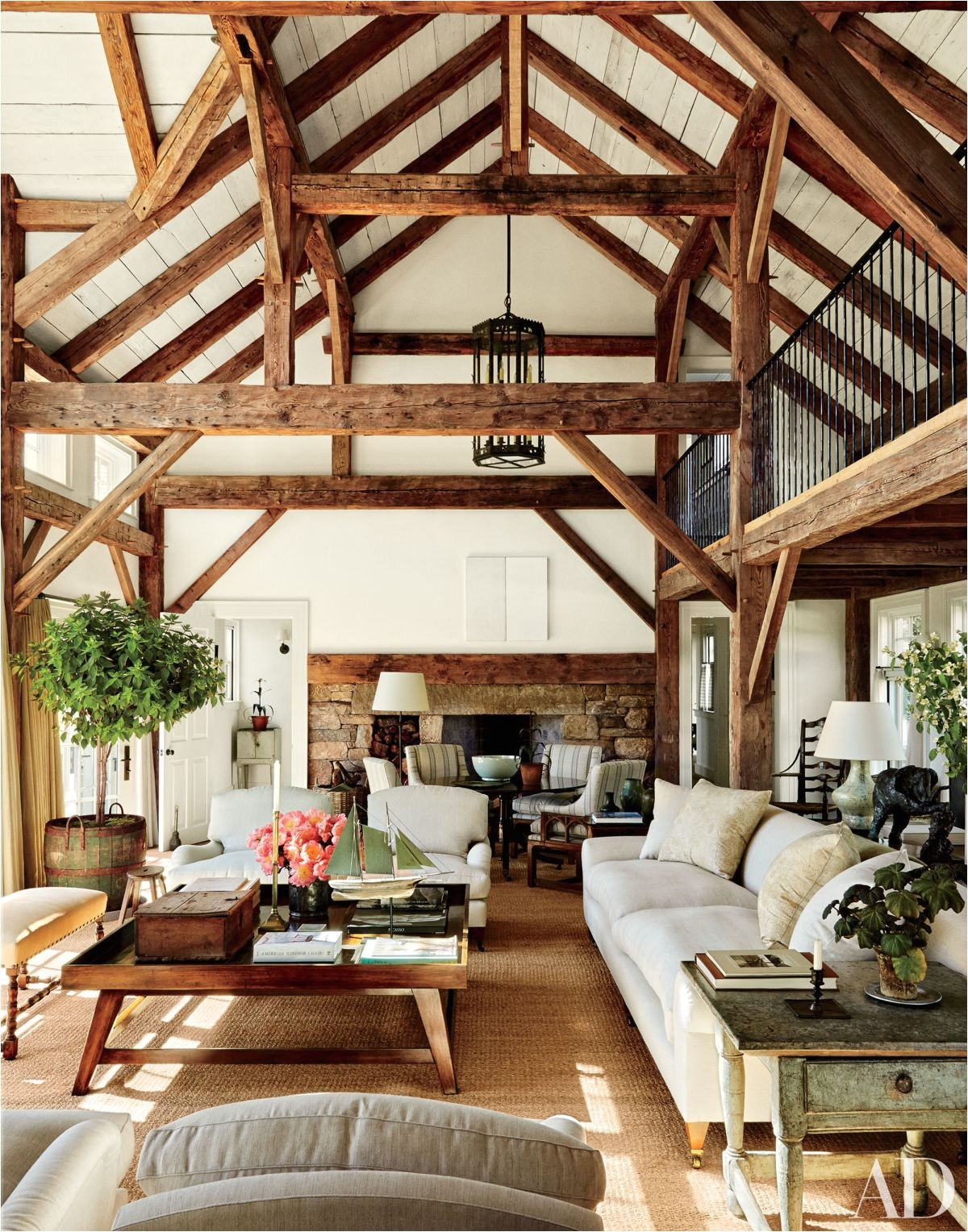 exposed beams styling