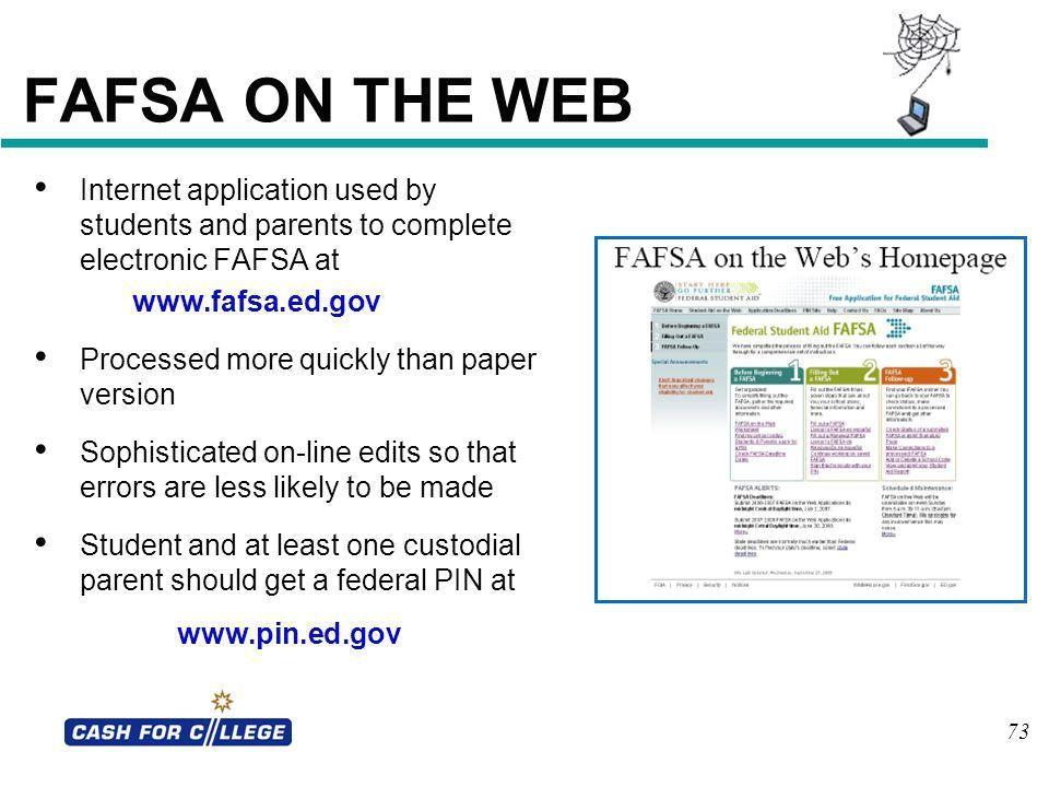 housing plan fafsa