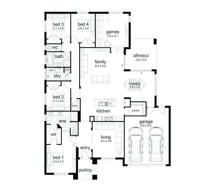Family Home Plans 82229 Family House Plans 7 Best Floor Plans Images On Family