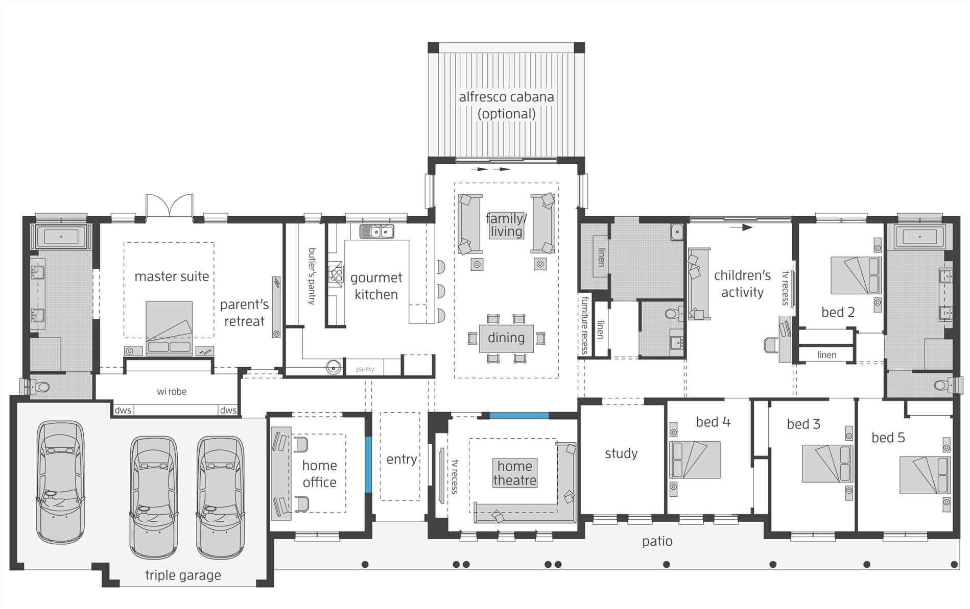 large farmhouse floor plans