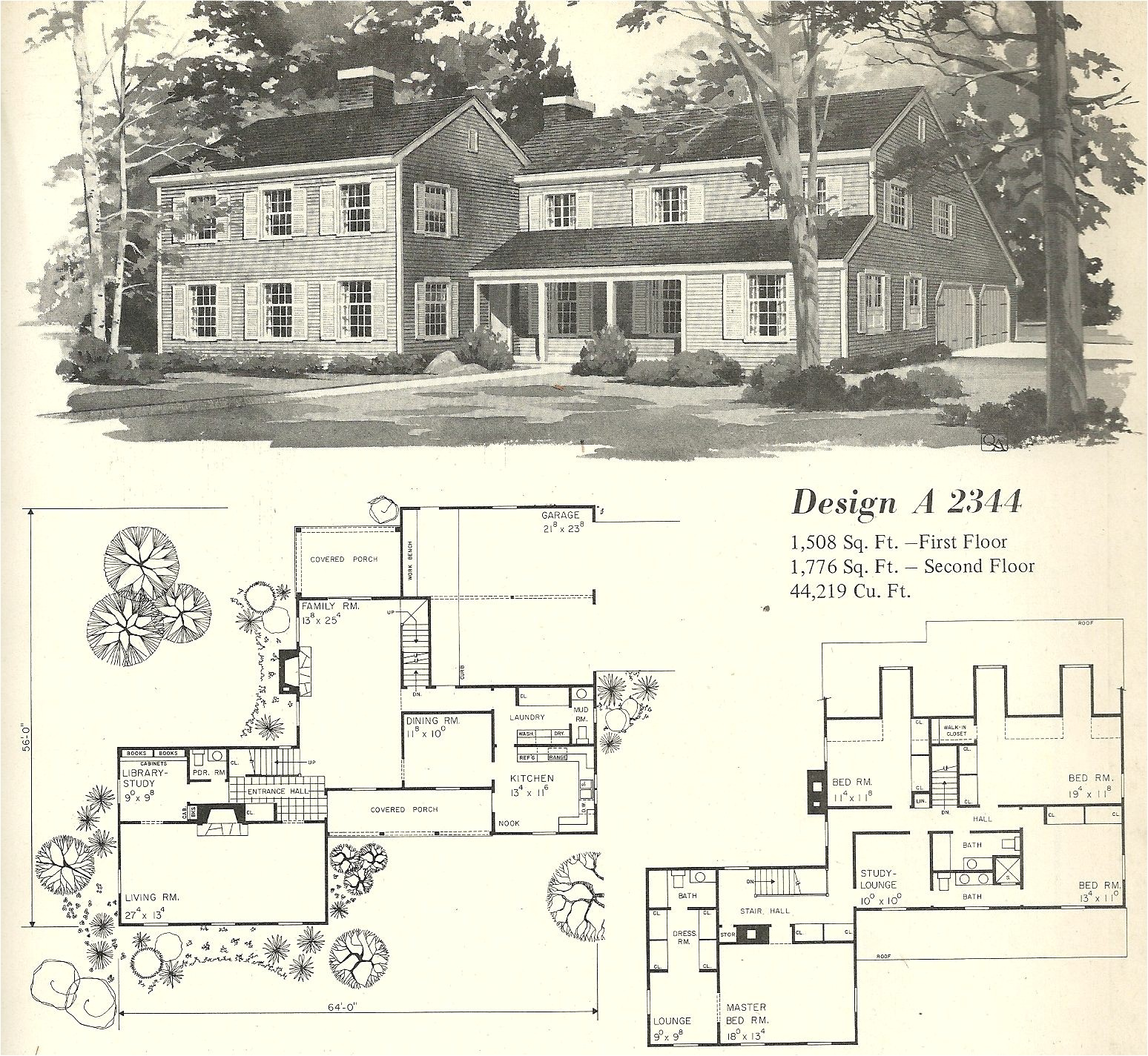 Farm Home Floor Plans Vintage House Plan Vintage House Plans 1970s Farmhouse