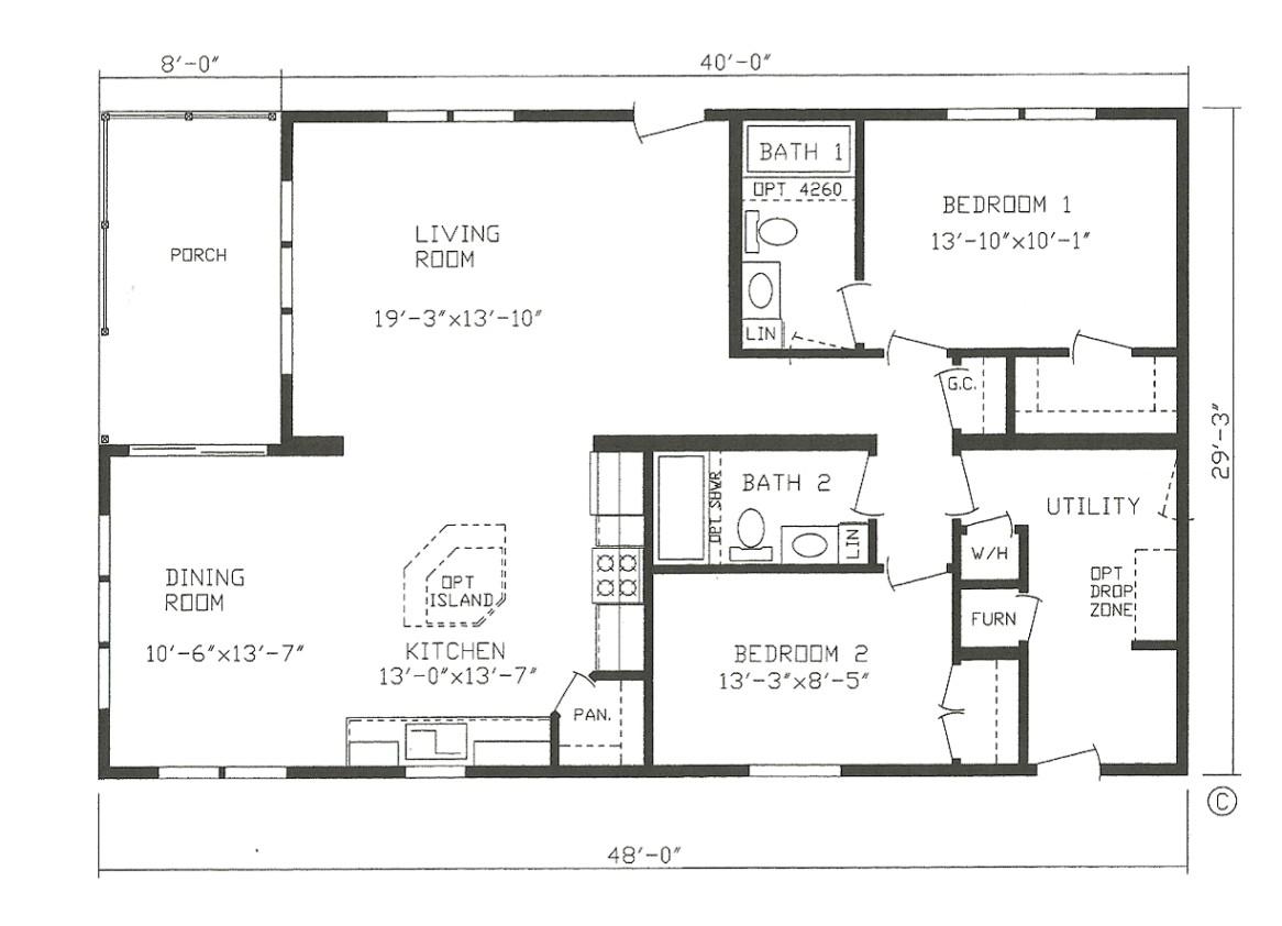 farmhouse modular home house plans cltsd in small mobile homes floor plans