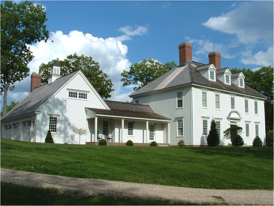 federal farmhouse designs