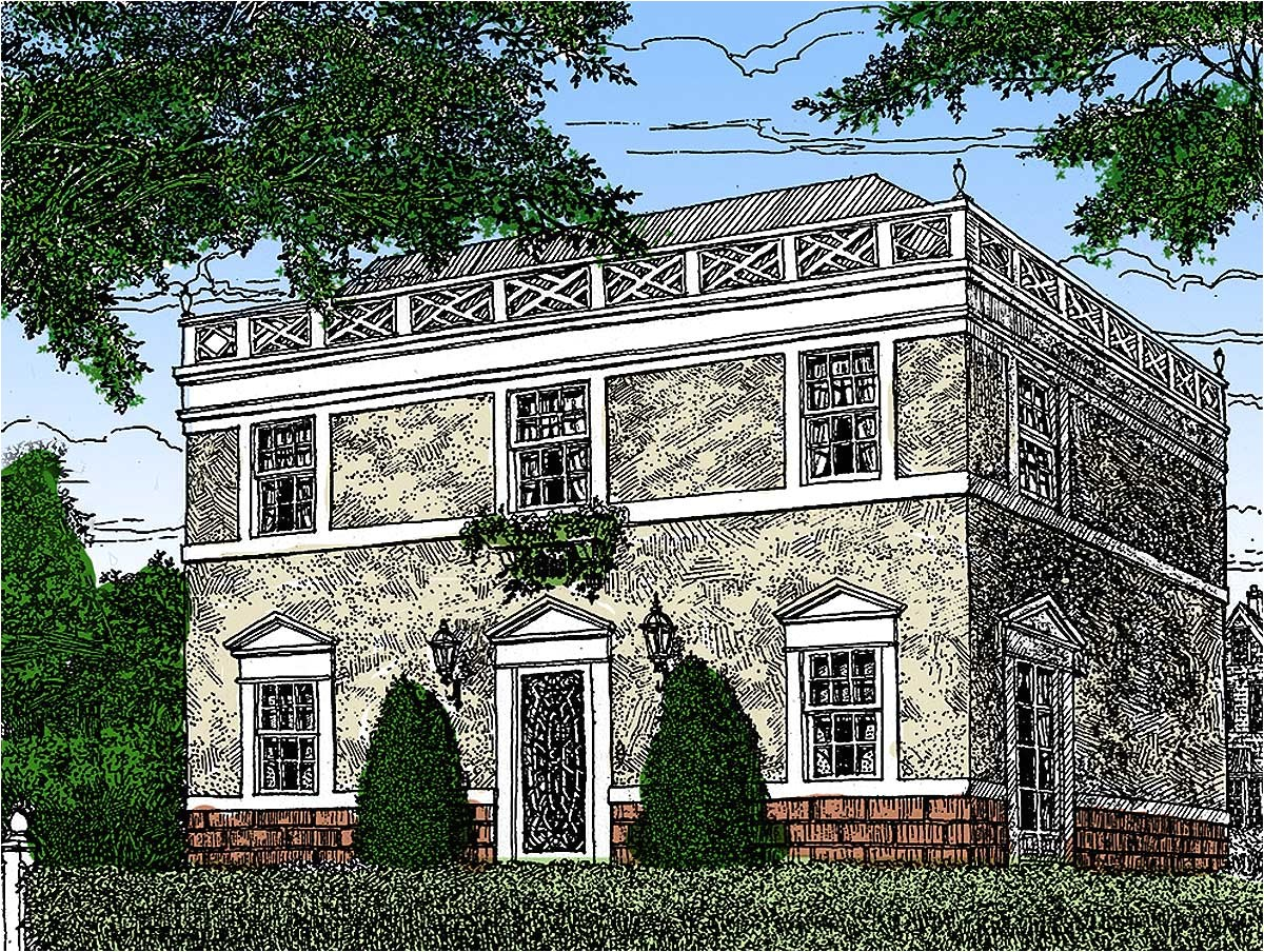 federal home plan with apartment below 12802gc