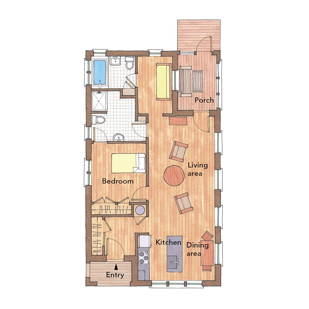 5 small home plans to admire