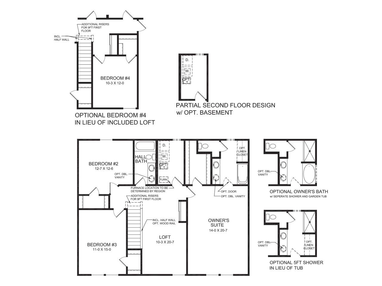 Fischer Homes Yosemite Floor Plan New Single Family Homes atlanta Ga Yosemite Fischer