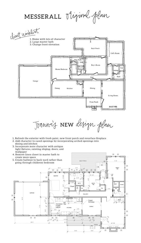 fixer upper floor plans