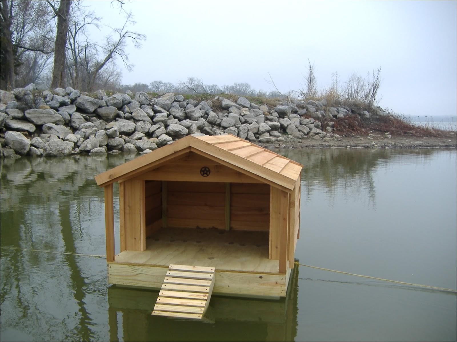 custom floating duck houses keep your