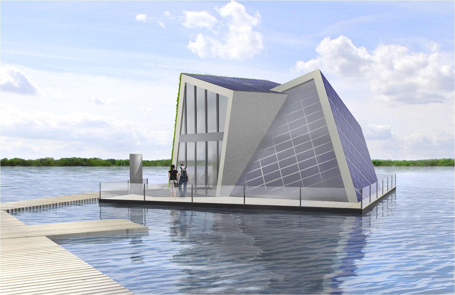 floating home design