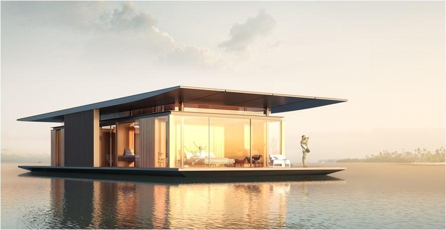 floatig house sustainable design