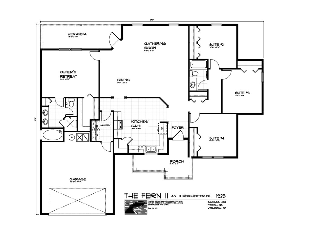 simple open floor plan homes