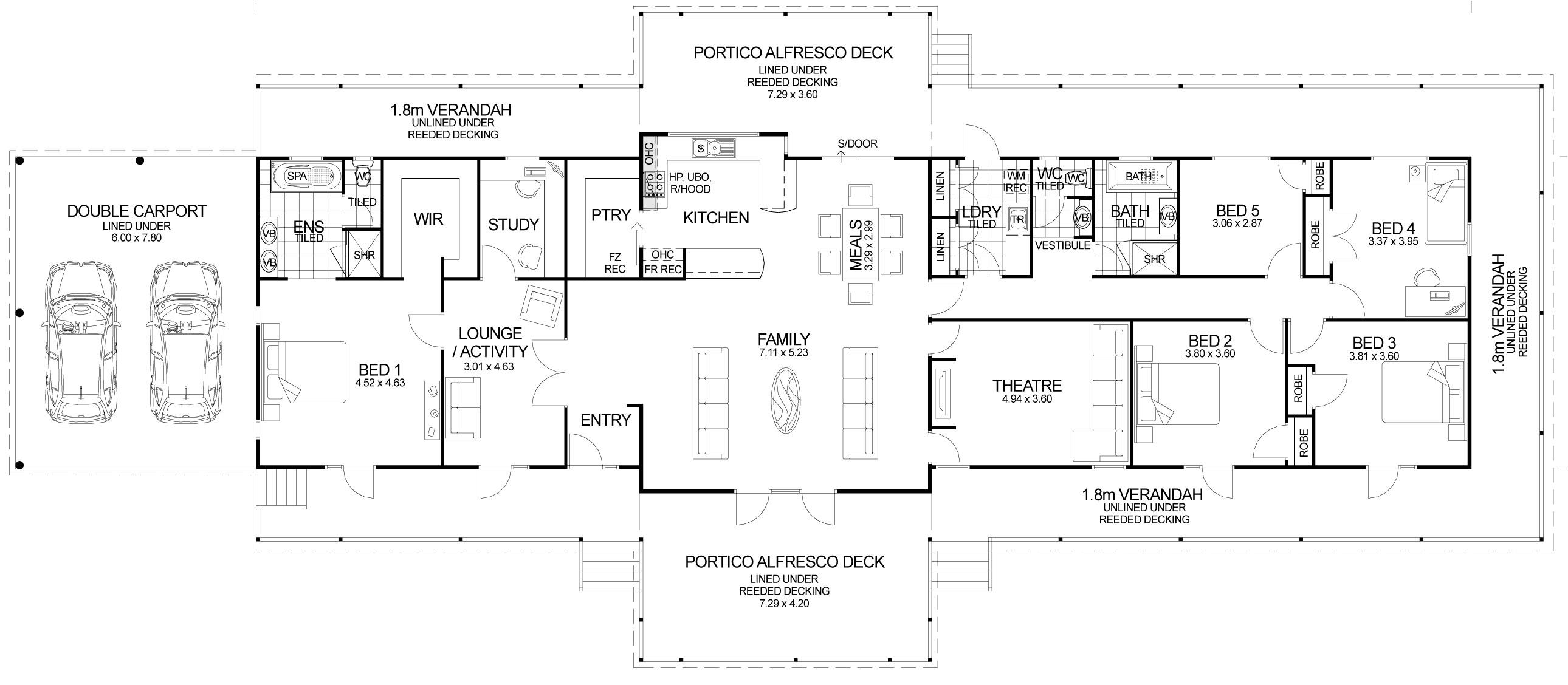 floor plan friday the queenslander