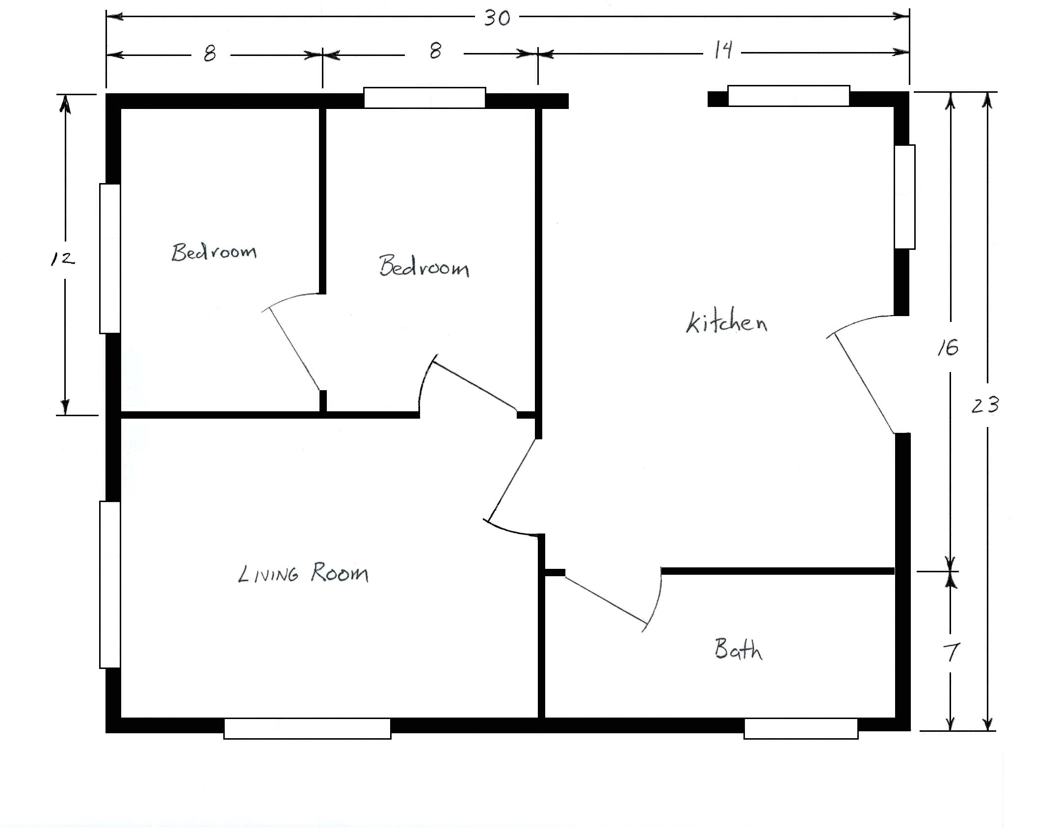 sample house floor plans