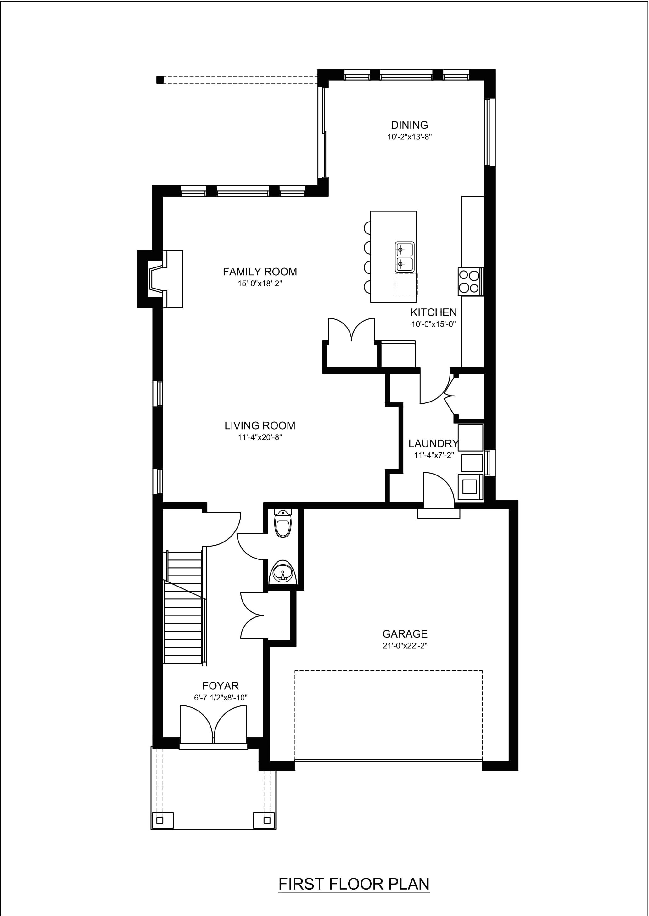 real estate 2d floor plans design rendering samples examples