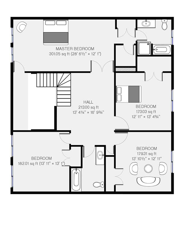 real estate floor plans samples