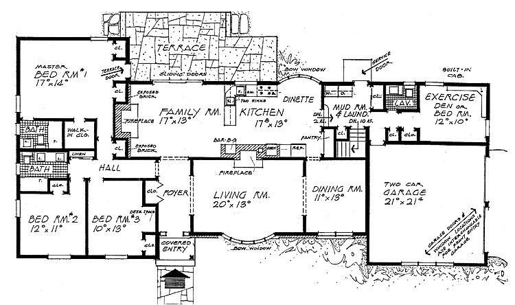 awesome ranch style home plans 2 ranch style house floor plans