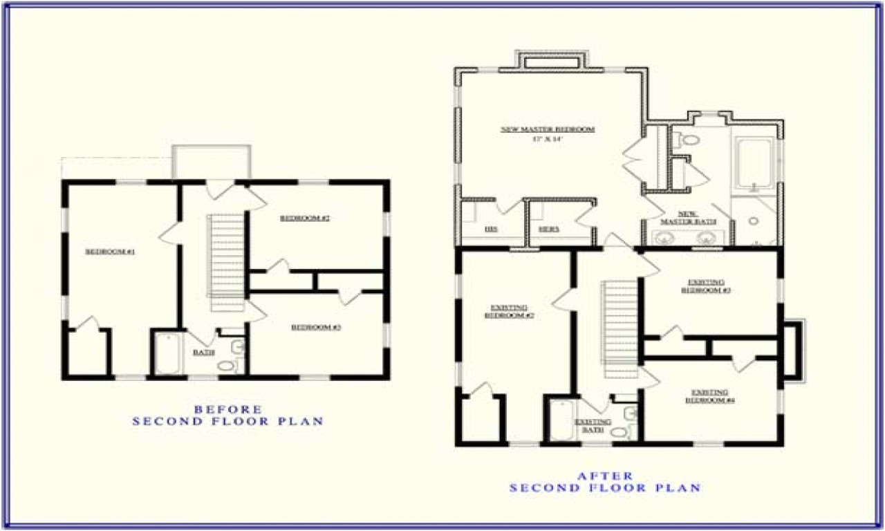 ba9b929a1a02511c second story addition floor plan up stairs addition ideas