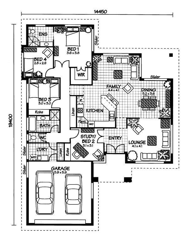 planos fachadas