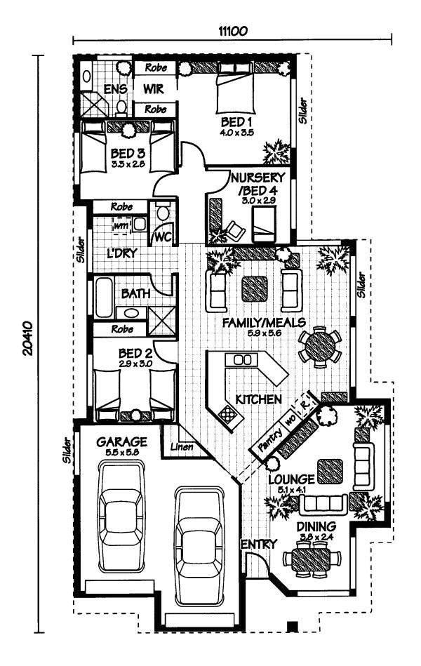 Floor Plans Australian Homes Australian House Plans Home Design