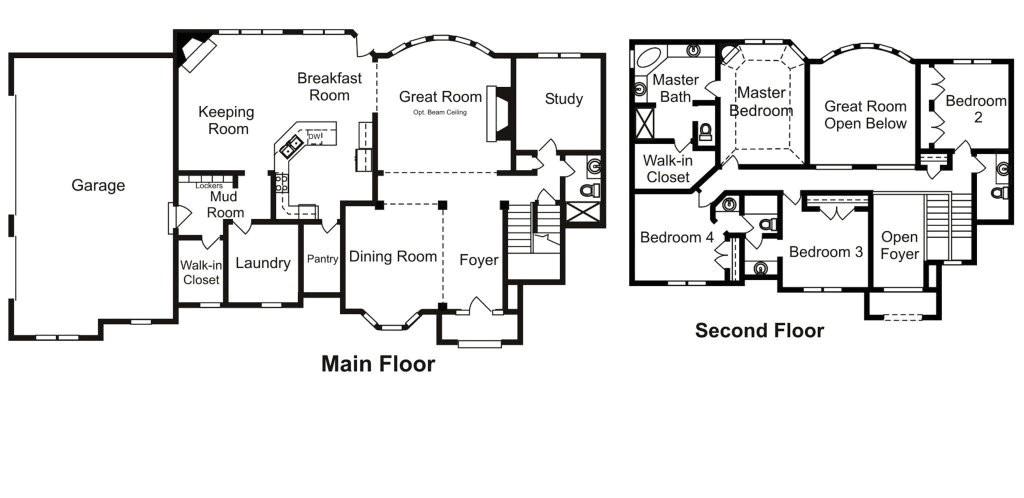 custom built homes floor plans inspirational custom floor plans home interior design