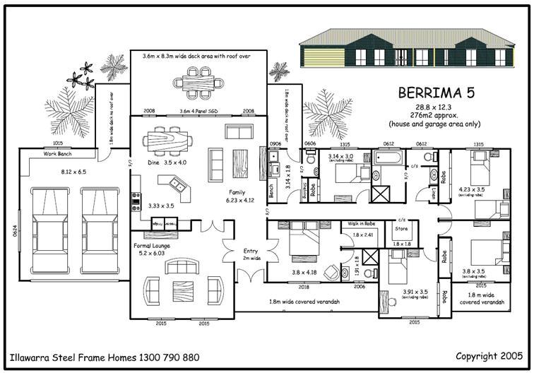 five bedroom house plan in kenya