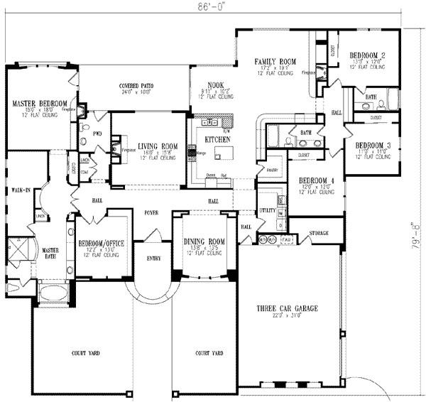 luxury 5 bedroom house plans