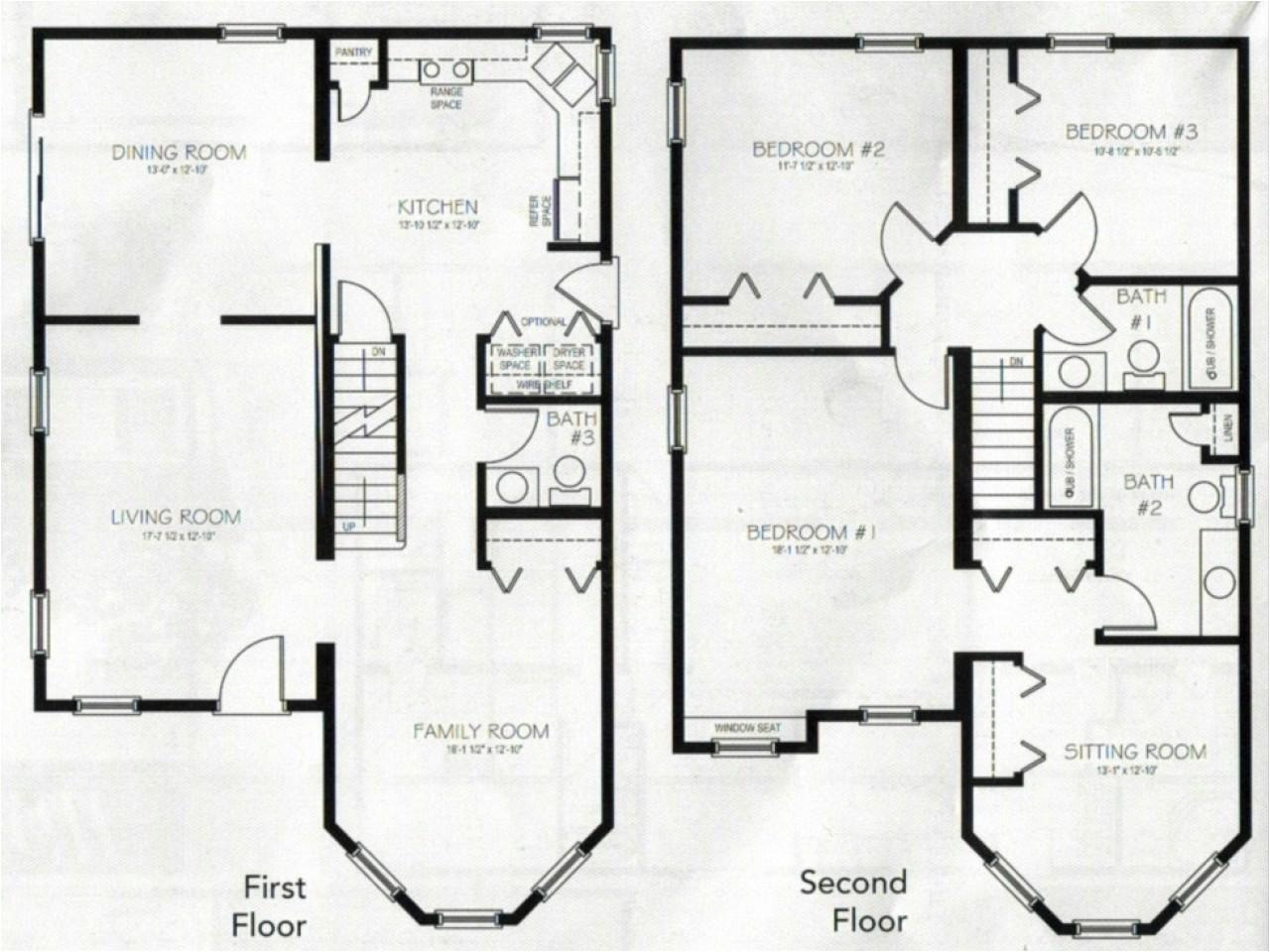 1c6e9d56762e4595 4 bedroom 2 story house plans 2 story master bedroom