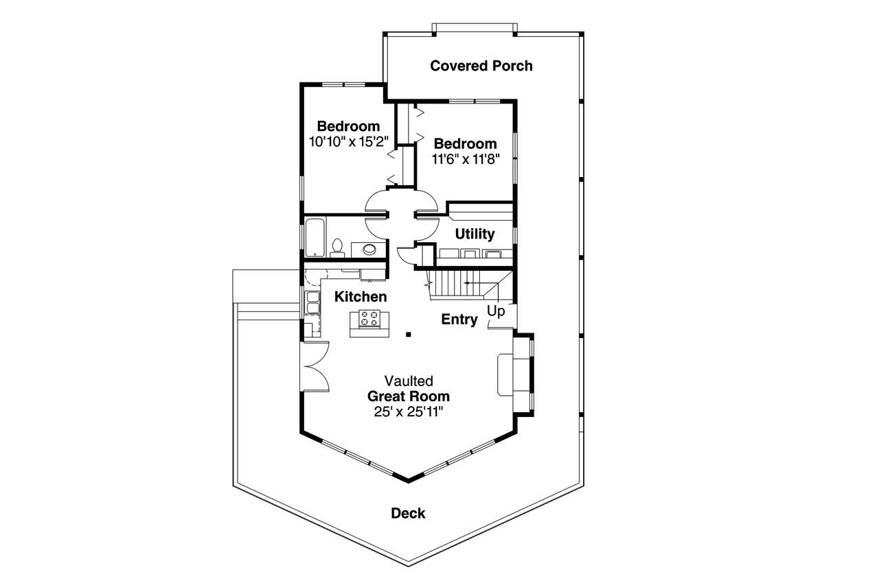 Floor Plans for A Frame Houses A Frame House Plans Gerard 30 288 associated Designs