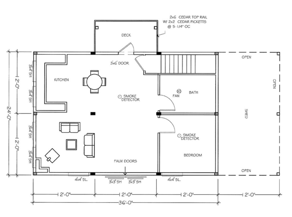 make a floor plan