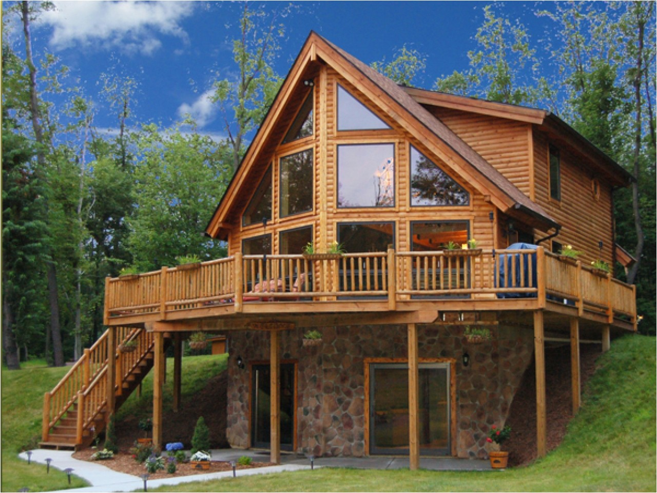 f4fabfbbf6f2a75d log home interiors log cabin lake house plans