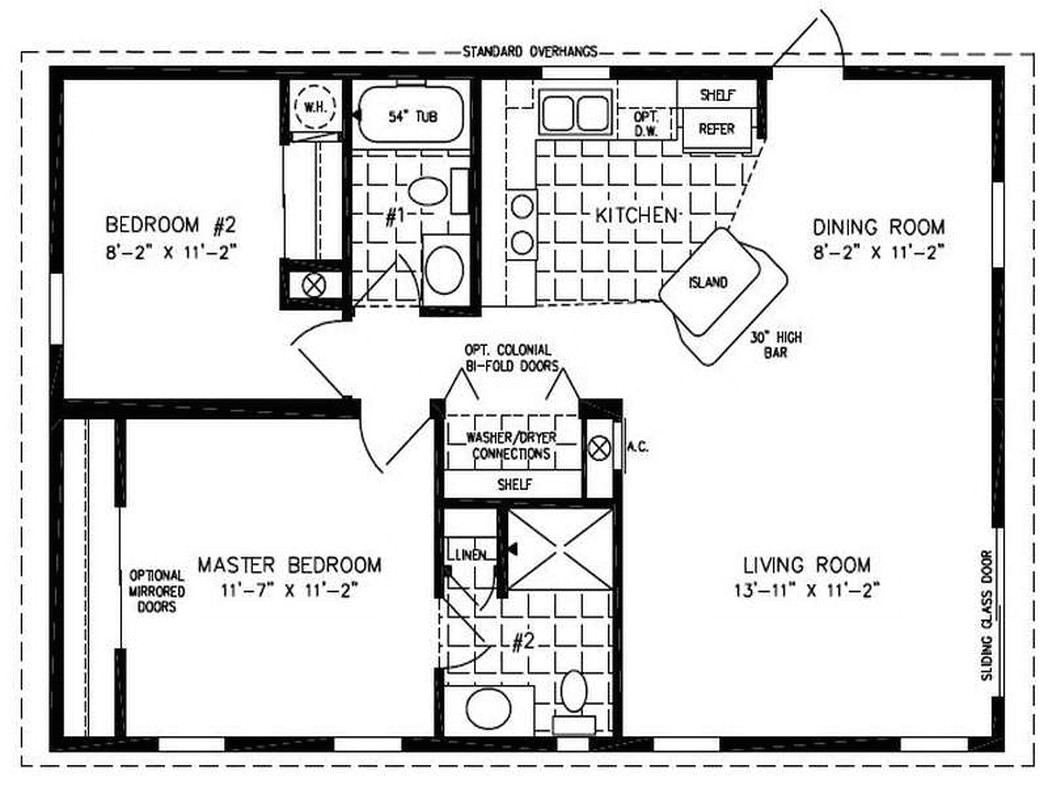double wide mobile home floor plans 551186