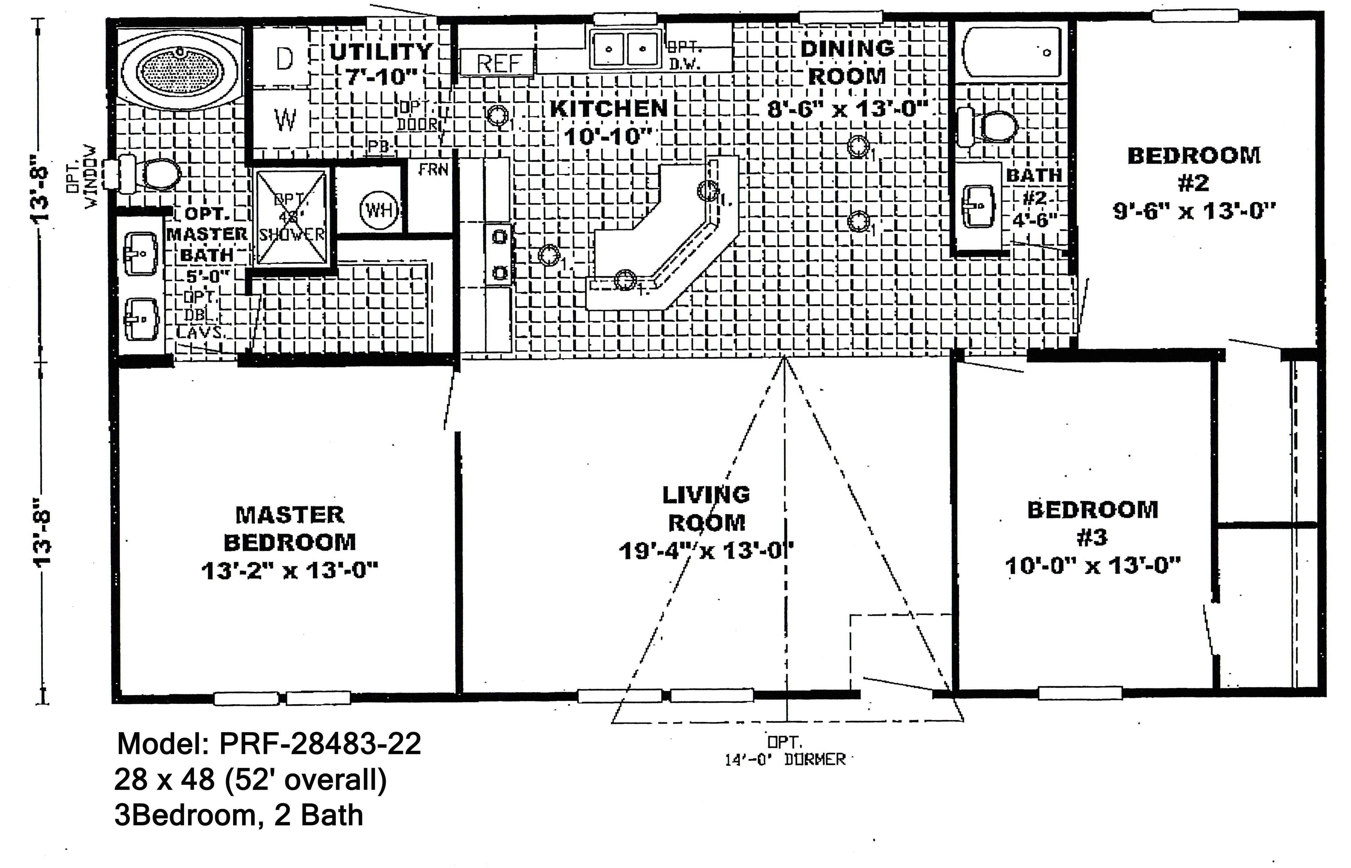 double wide floorplans 1830346