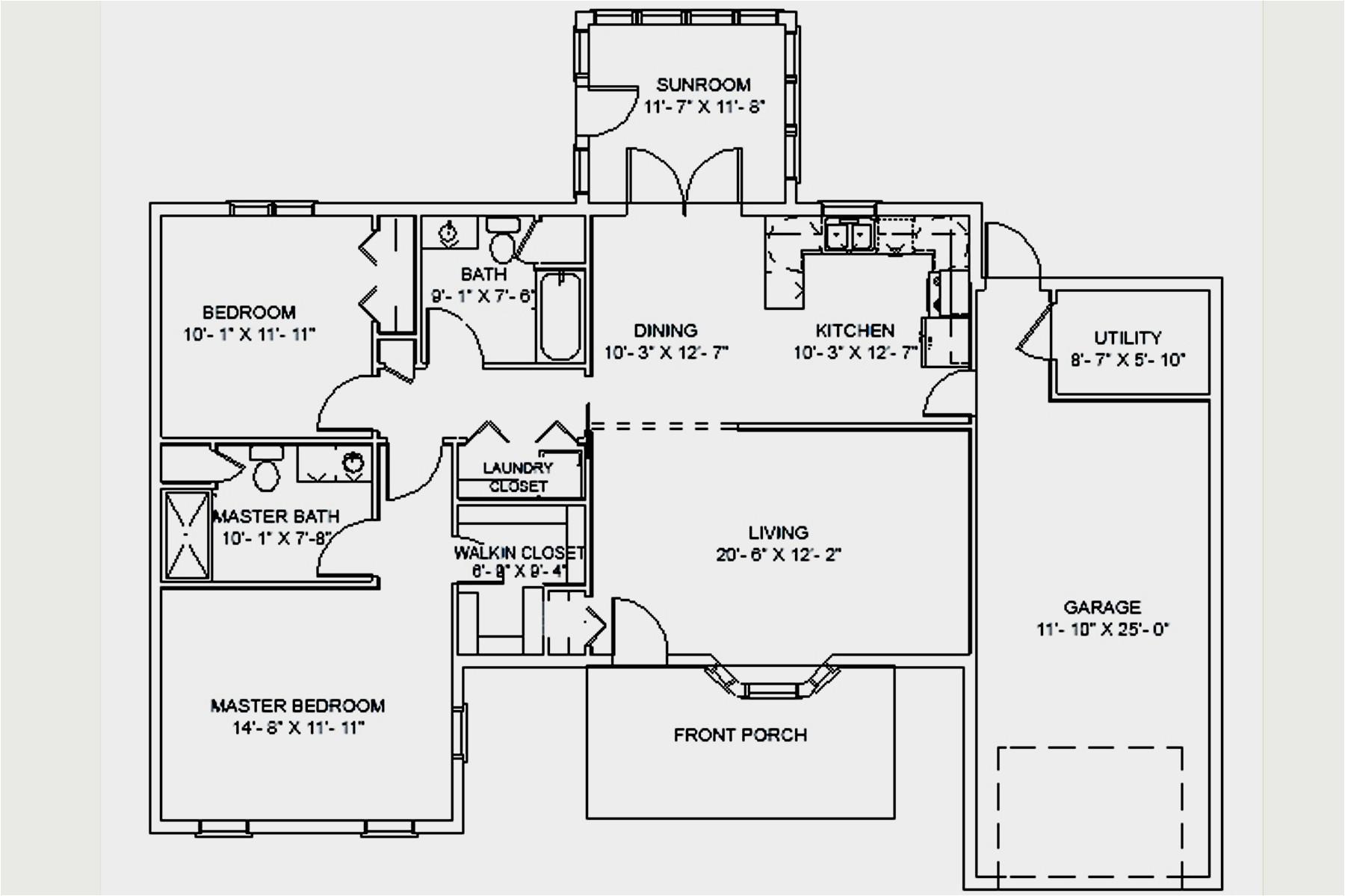 floor plans for senior homes