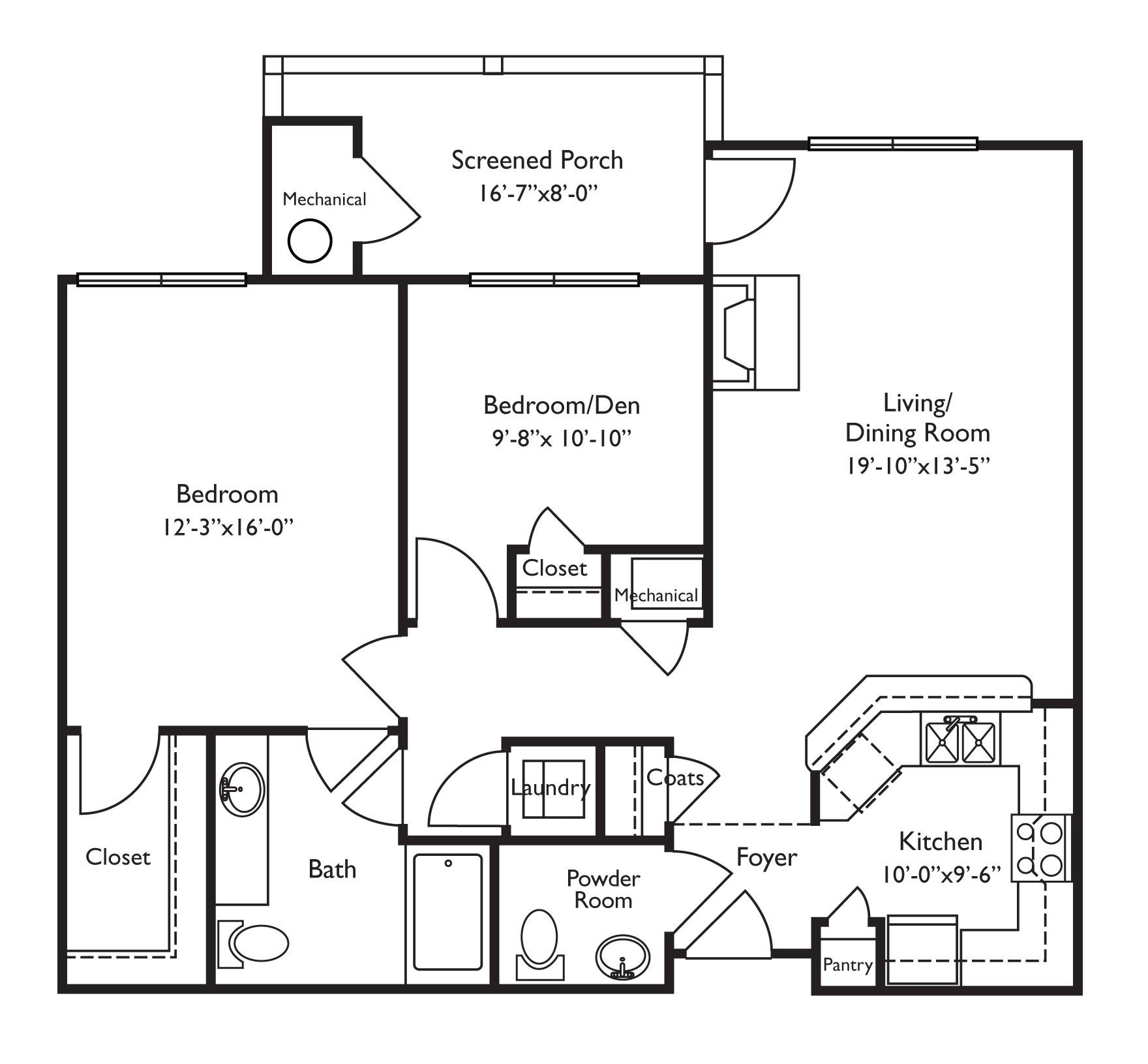 retirement home floor plans inspirational floor plans for retirement homes looks wheelchair accessible