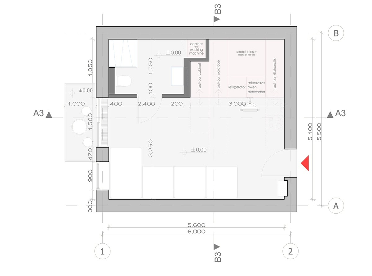 2 super tiny home designs under 30 square meters includes floor plans