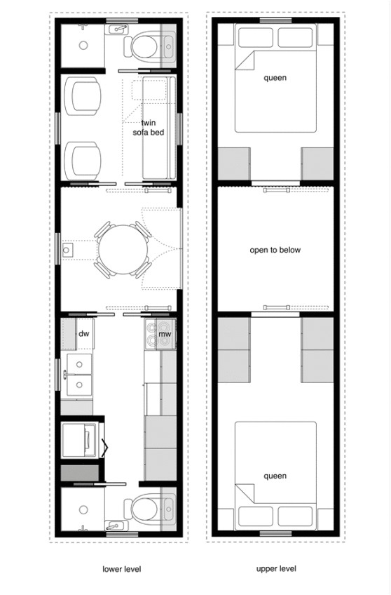 tiny house on wheels floor plans trailer effective and