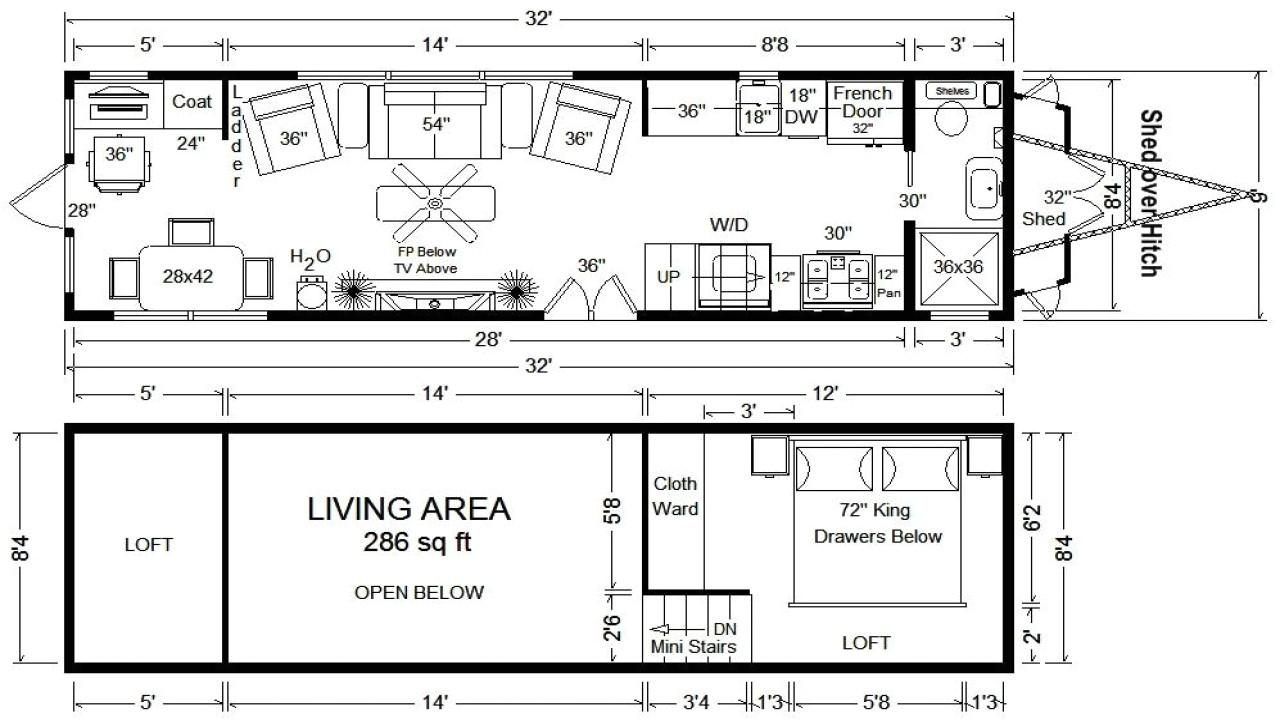 d623349804f9849a tiny houses on wheels floor plans tumbleweed tiny house floor plans