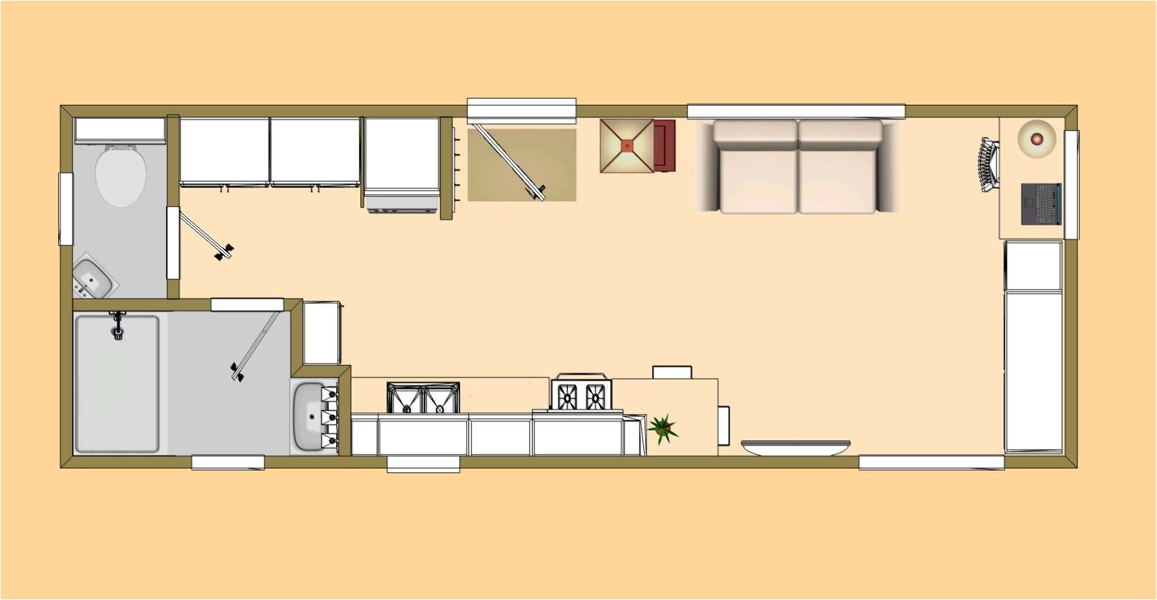 500 square feet house plan home floor plans 500 square feet slyfelinos 2