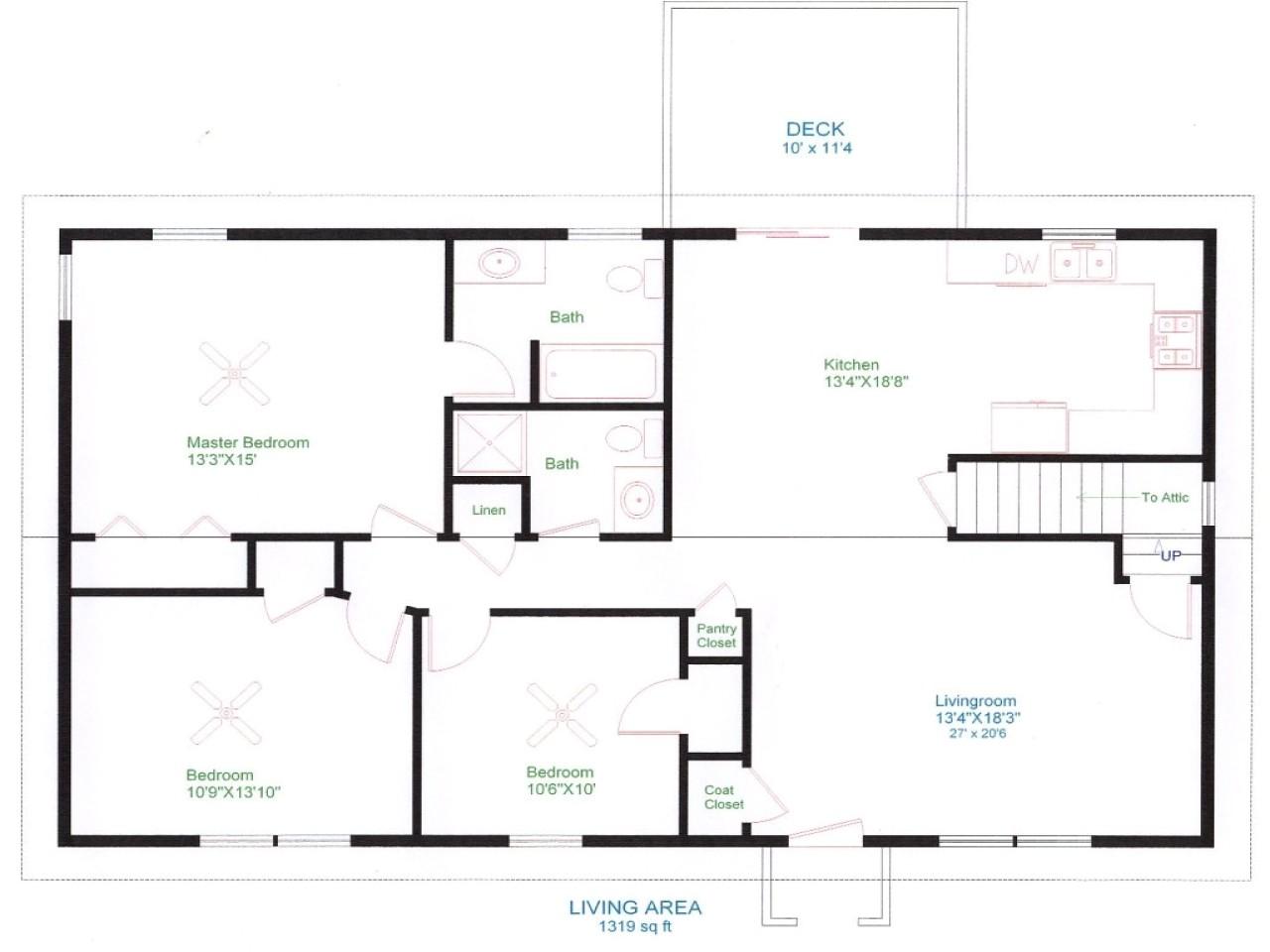 d15f63fdbf3dd4d1 ranch house floor plans unique open floor plans